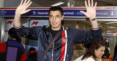 Oscar Cardozo'ya kanca