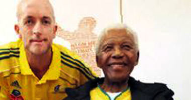 Açılışa Mandela