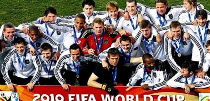Yine Almanya yine üçüncülük