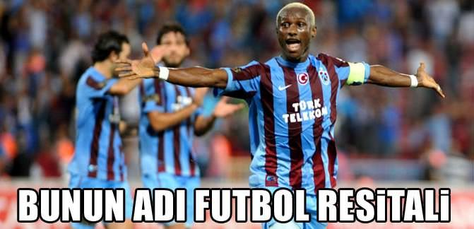 Trabzon'dan 'gol'bastı!