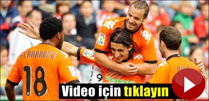 Mehmet Topal ilk golünü attı