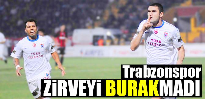 Trabzonspor zirveyi BURAKmadı
