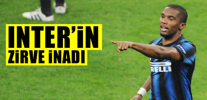 Inter'in zirve inadı