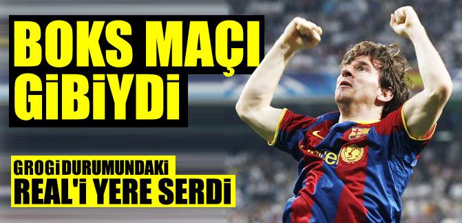 Messi seriyi bitirdi