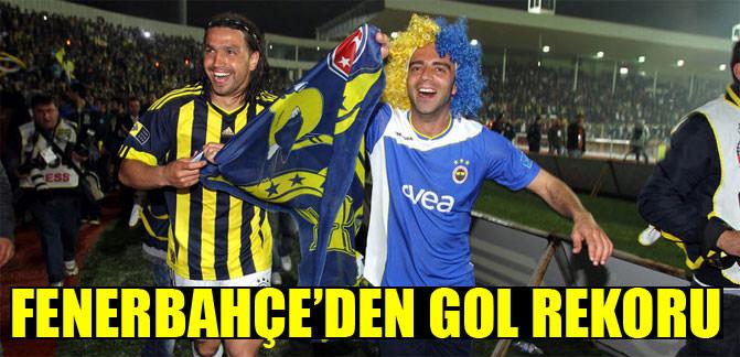 Fenerbahçe'den gol rekoru