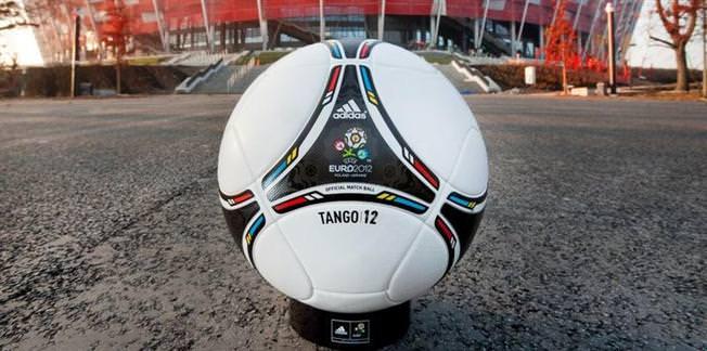 Euro 2012'nin resmi topu da hazır