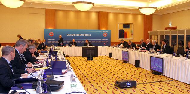 UEFA Yönetim Kurulu Toplantısı başladı
