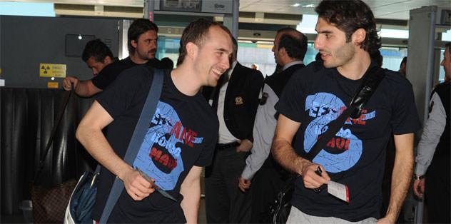 Trabzonspor Antalya'ya gitti