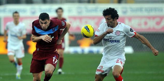 Antalya maçı saat 18.00'de ATV'den naklen