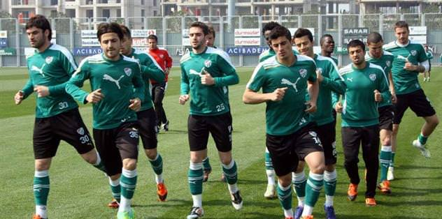 Fenerbahçe maçının hazırlıkları başladı