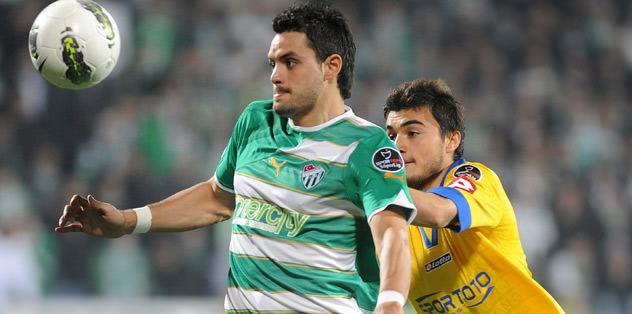 Bursaspor taraftarı Pinto'yu şaşırttı