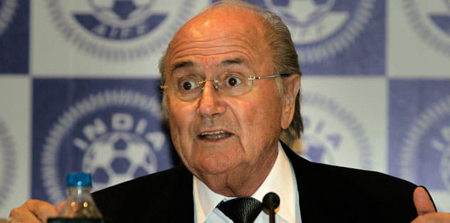 Blatter'den Demirören'e teşşekkür