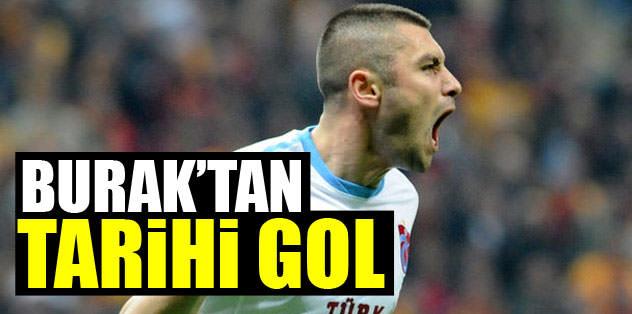 Burak'tan tarihi gol