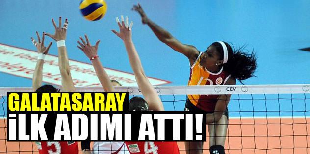 Galatasaray ilk adımı attı