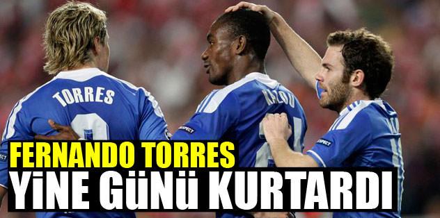 Torres yine günü kurtardı