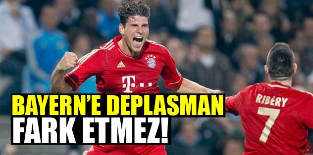 Bayern'e deplasman fark etmez!