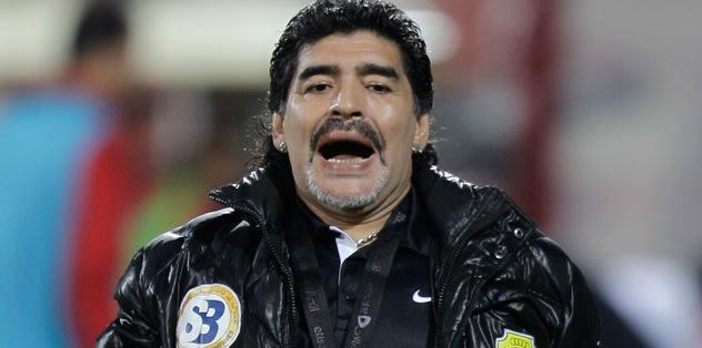 Maradona'yı kızdırdılar