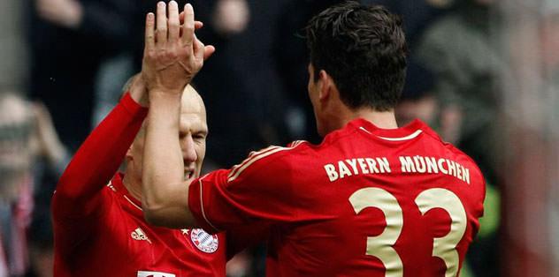 Baştan sona Bayern