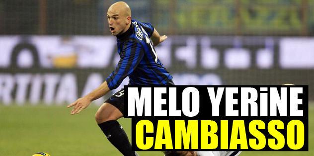 Melo yerine Cambiasso