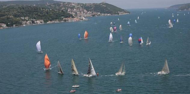 İstanbul'da yelken heyecanı