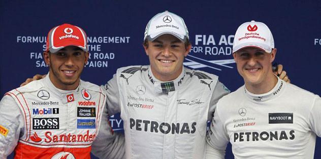 Çin'de en hızlı Nico Rosberg