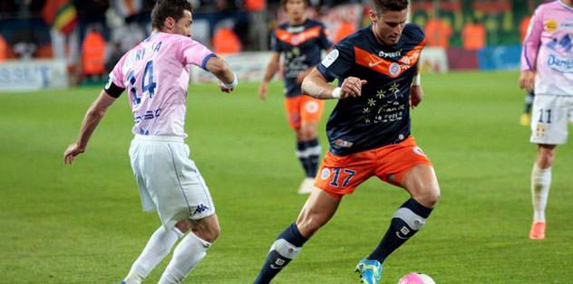 Montpellier'den puan kaybı