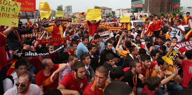 Ankara'da da protesto vardı