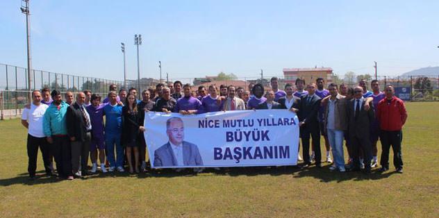 Türkmen'e sürpriz