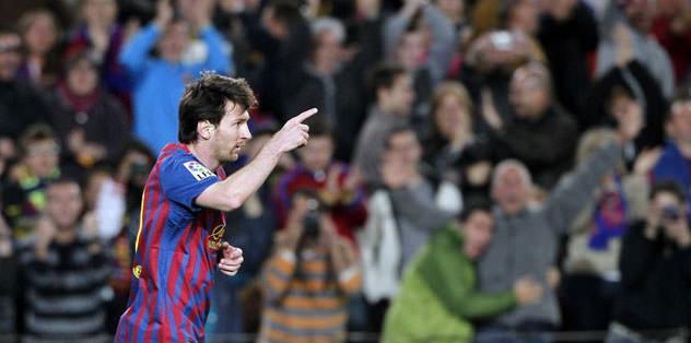 Messi'den yeni rekor