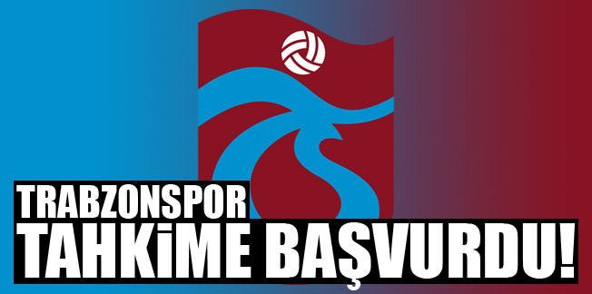 Trabzonspor da Tahkim'e başvurdu