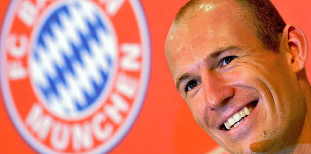 Robben kalıyor