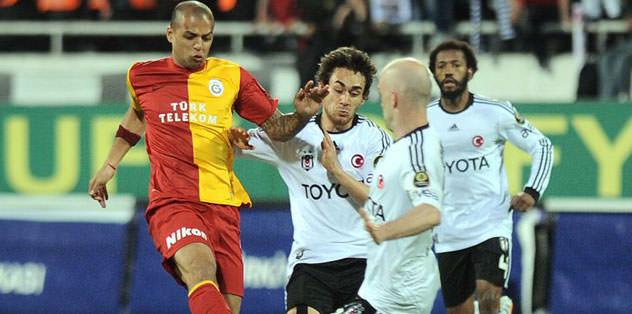 Galatasaray'ın ezici üstünlüğü bulunuyor