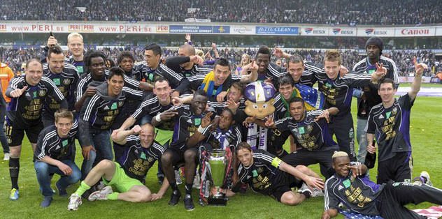 Şampiyon Anderlecht