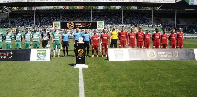Sivasspor, Süper Final'de havlu attı
