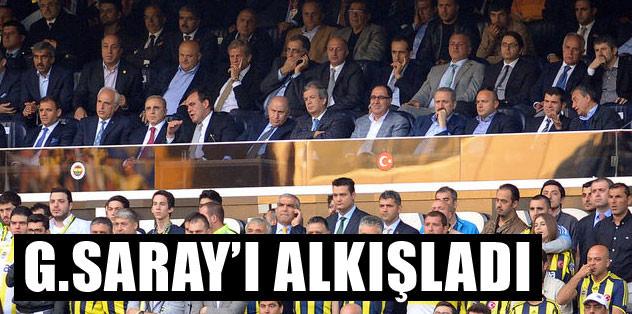 Nihat Özdemir Galatasaray'ı alkışladı
