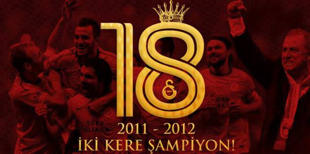 Galatasaray: İki kere şampiyon