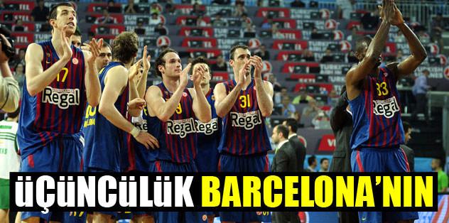 Üçüncülük Barcelona'nın