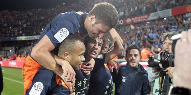 Montpellier şampiyon gibi!
