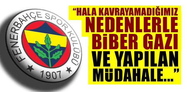 Fenerbahçe'den olaylarla ilgili açıklama geldi