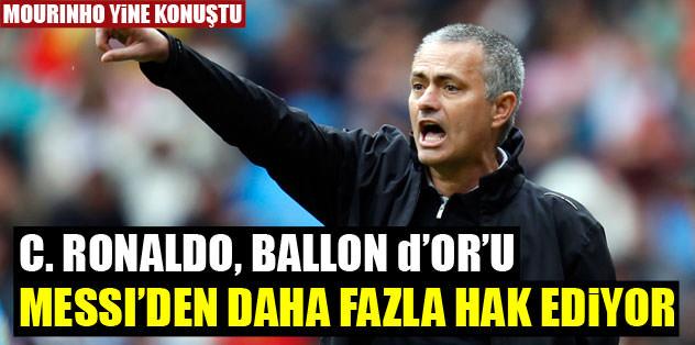 """""""Ballon d'Or Ronaldo'nun hakkı"""""""