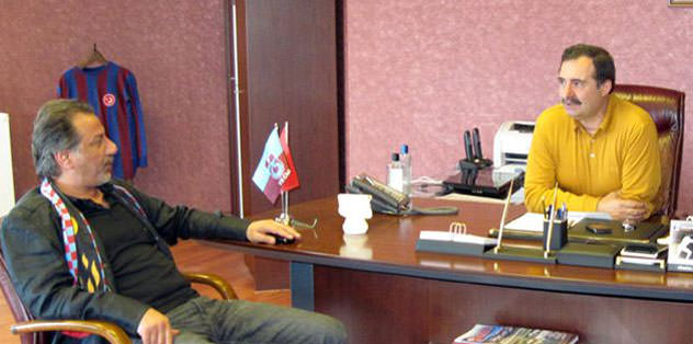 Faruk Aksoy'dan kulübe ziyaret