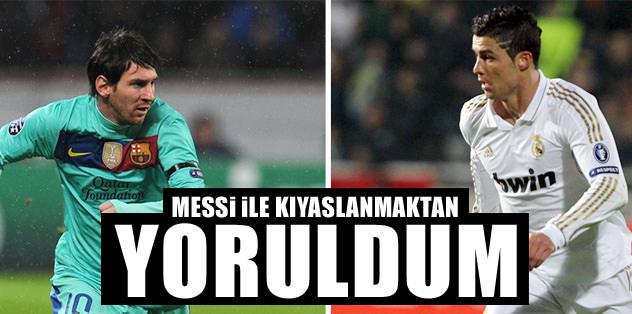 CR7'den Messi yorumu