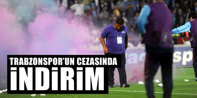 Trabzonspor'un cezasında indirim