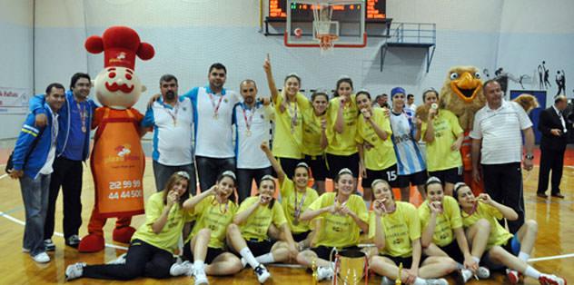 Genç Kızlar Türkiye şampiyonu