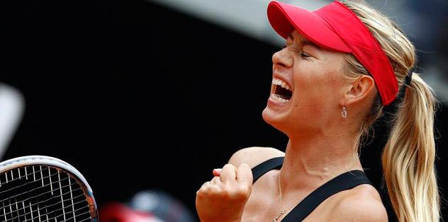 Sharapova şampiyonluğu bırakmadı