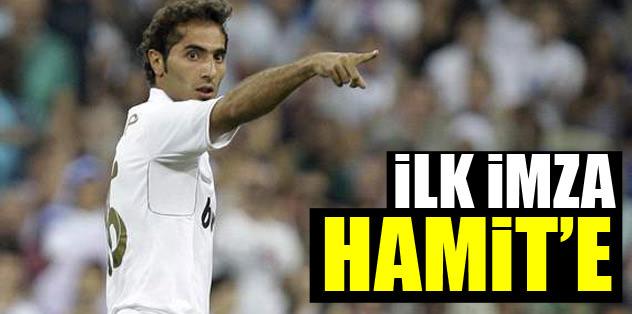 İlk imza Hamit'e