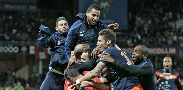 Montpellier şampiyon