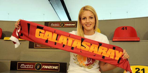 Sinem Barut Galatasaray'da
