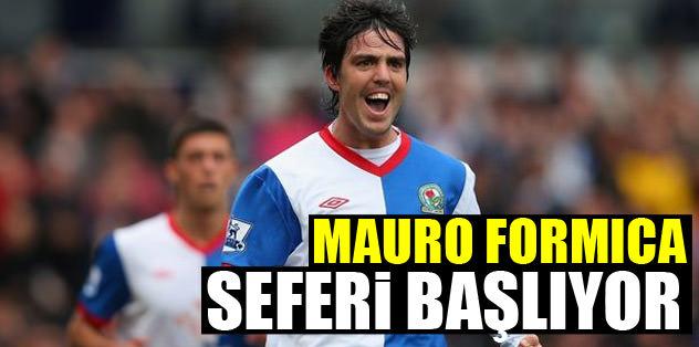 Mauro Formica seferi başlıyor