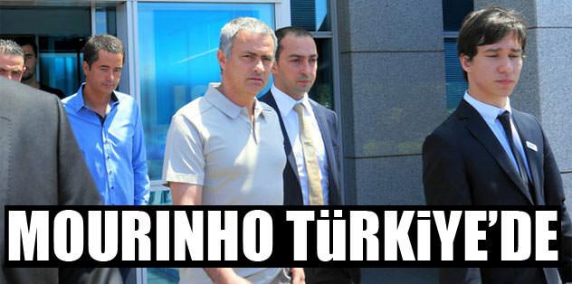 Jose Mourinho Türkiye'de